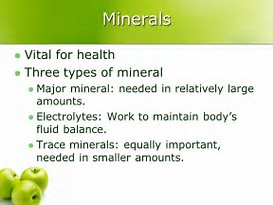 Go To Products Minerals For Health.